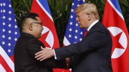 """""""Wenn ich nicht wäre, wären wir jetzt im Krieg mit Nordkorea!"""""""