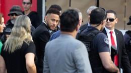 Neymar fünf Stunden lang befragt