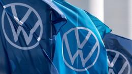 VW rutscht in die roten Zahlen