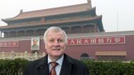 Chinesische Polizei verhindert Seehofer-Interview