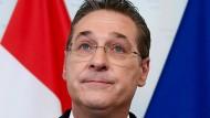 Heinz-Christian Strache erhielt viele Vorzugsstimmen bei der Europawahl – nun könnte er ins EU-Parlament einziehen.
