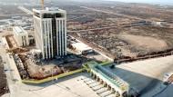 Mitten in Afrika: ein von Chinesen errichteter Gewerbepark in Djibouti