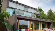 Lässig hingestreckt: Das Haus der Familie Rauschenberger