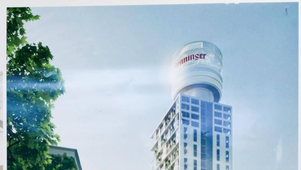 Höher wohnen im Henninger-Turm