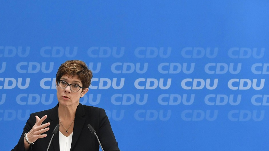 Wird Annegret Kramp-Karrenbauer die nächste Kanzlerkandidatin der Union?