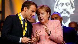 So antwortet Merkel auf Macron
