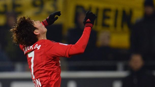 Leverkusen spielt vizemeisterlich