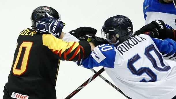 Deutschland schafft späten Sieg gegen Finnland