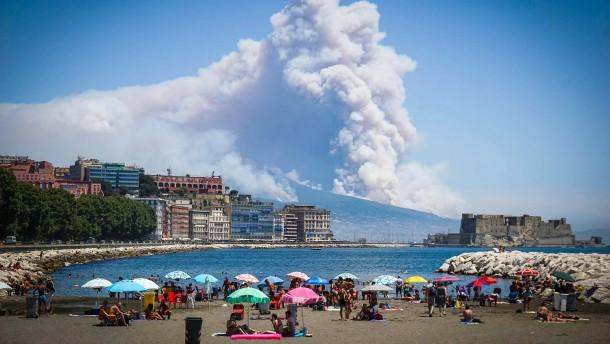 Brände in Italien oft absichtlich gelegt