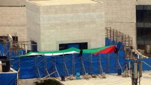 Arafats Grab wieder verschlossen
