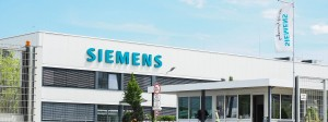 Siemens-Werk im bayerischen Fürth