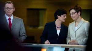 Die SPD steht vor der Gretchenfrage