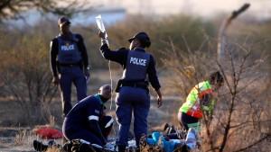 Ein Massaker wie zu Zeiten der Apartheid