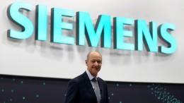 """Siemens-Chef Busch: """"Wir haben geliefert"""""""