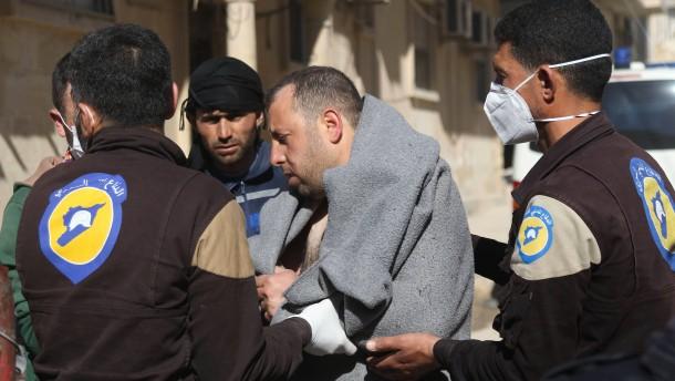Syrische Luftwaffe traf Chemiewaffenfabrik