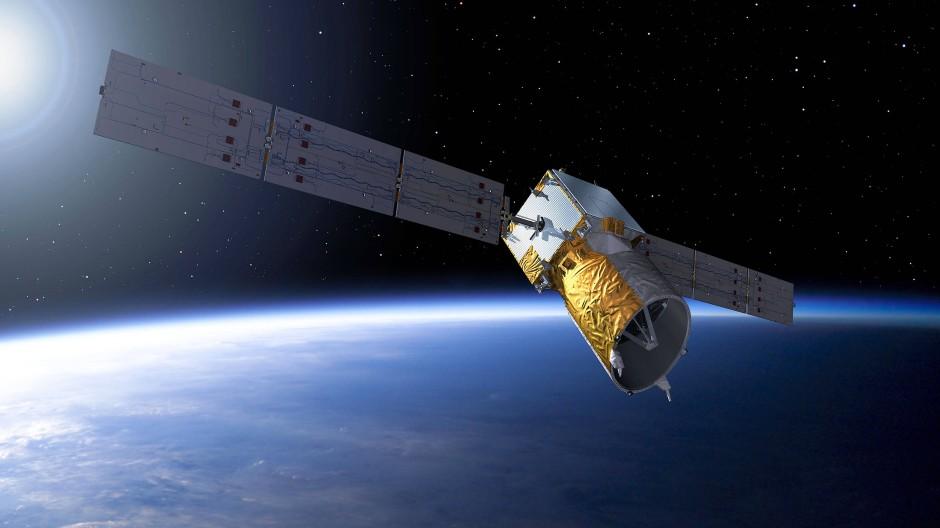 """Der Aeolus-Satellit der Esa hat sein erstes Ausweichmanöver hinter sich – anlässlich der Annäherung eines von SpaceX betriebenen """"Starlink""""-Satelliten."""