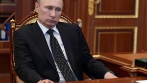 Amerika plant Sanktionen gegen sehr engen Zirkel um Putin