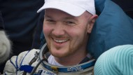 Astronaut Alexander Gerst zurück auf der Erde