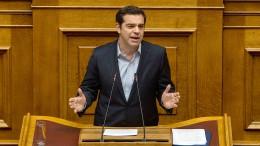 Tsipras legt Wachstumsplan für Griechenland vor