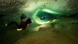 Maya-Forschung in der weltgrößten Unterwasserhöhle