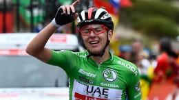 Roglic vor Gesamtsieg – Pogacar fährt mit Solo-Triumph auf Rang drei
