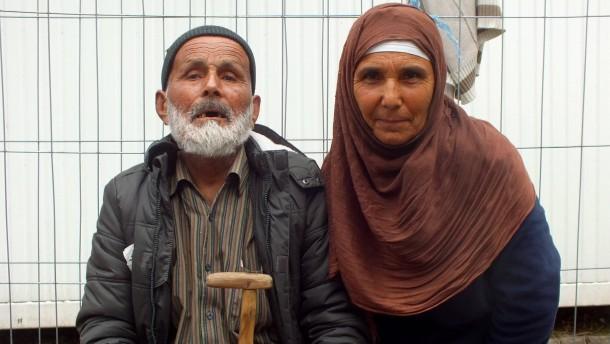 110 Jahre alter Flüchtling in Passau eingetroffen