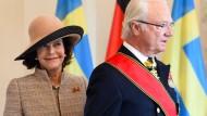 Schwedisches Königspaar zu Staatsbesuch in Deutschland
