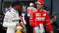 """Sebastian Vettel über den Titelkampf mit Lewis Hamilton: """"Wir wissen, wo wir ansetzen müssen, es ist aber nicht einfach."""""""