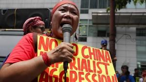 Atmosphärische Störungen im Umgang mit China