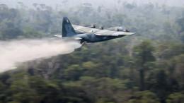 Militär bekämpft Waldbrände im Amazonasgebiet