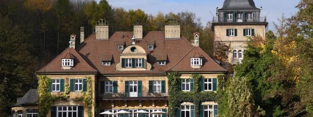 Das Schlosshotel Lerbach in Bergisch Gladbach.
