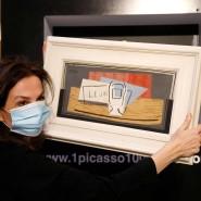"""Der Wert von Picassos Werk """"Stillleben"""" aus dem Jahr 1921: rund eine Million Euro."""
