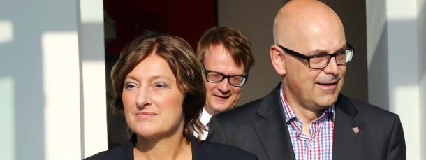 Der schleswig-holsteinische Ministerpräsident Torsten Albig setzt im Bildungsressort künftig auf Britta Ernst