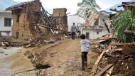 Schweres Erdbeben in China