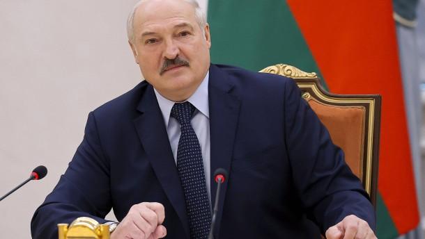 Lukaschenko greift Deutschland wegen Sanktionen scharf an
