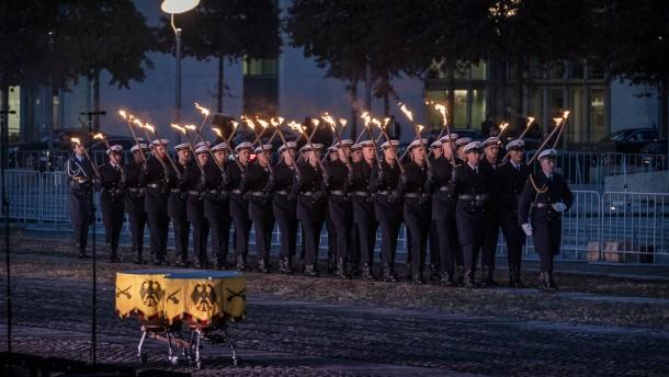 Späte Anerkennung für die Bundeswehr