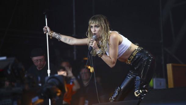 Miley Cyrus Aktuell News Der Faz Zur Sangerin