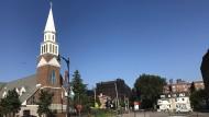 St. George, ein Stadtteil an der Nordostspitze von Staten Island.  Bislang galt der Stadtbezirk von New York City als sichere Bank für die Demokraten.