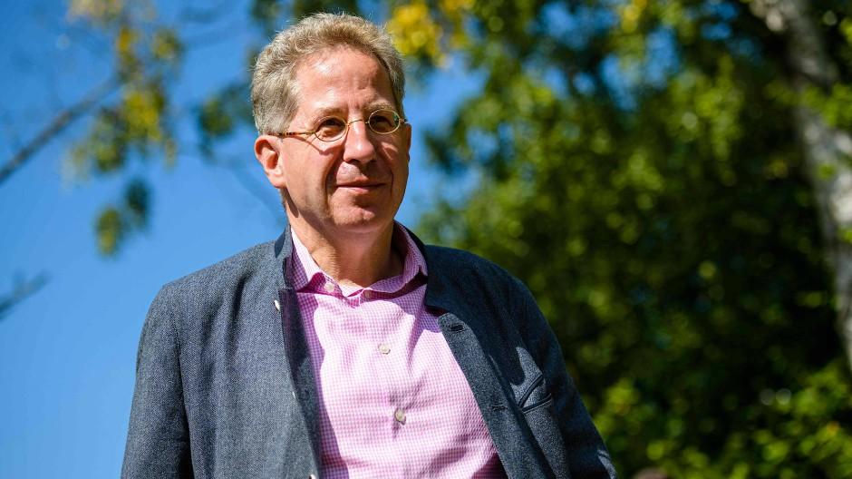 Hans-Georg Maaßen Anfang September in Benshauen
