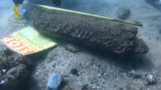 Sprengkörper am Strand vor Barcelona gefunden