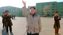 War auch er offline? Nordkoreas Diktator Kim Jong-un - hier auf einem Foto, das die staatliche Nachrichtenagentur des Landes am 26. Dezember veröffentlicht und das an einem unbekannten Ort aufgenommen wurde.