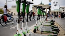 Ein Rollerverleiher ist in Deutschland schon profitabel