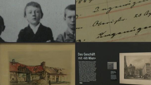 Ausstellung über Hitlers Kindheit