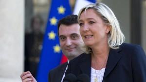 Die schwere Krise des Front National
