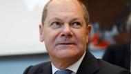 Bundesfinanzminister Olaf Scholz (SPD) im Oktober in Berlin