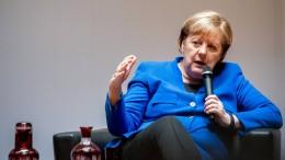 "Merkel fordert ""ethische Leitplanken"" für KI"