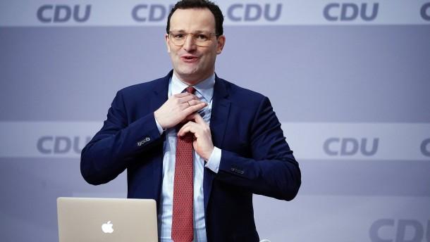 Spahn bedauert Auftritt beim CDU-Parteitag