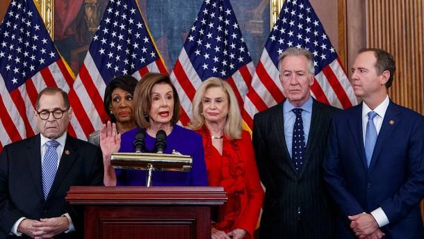 Was die Demokraten Trump vorwerfen
