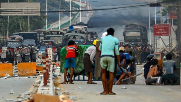Mindestens 44 Tote in Myanmar