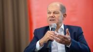 Finanzminister Olaf Scholz (SPD) hat sich für die Vermögensteuer ausgesprochen.